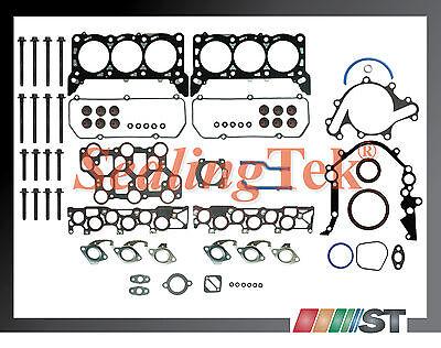 2000 Ford Mustang 3.8l V6 Vin 4 Full Gasket Set + Bolts Kit Engine Cylinder Part
