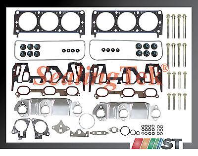 99-03 Gm 3100 3.1 189 V6 Vin J Head Gasket Set W/ Bolts Engine Cylinder Parts