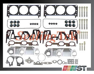 00-03 Gm 3100 3.1 189 V6 Vin J Head Gasket Set W/ Bolts Engine Cylinder Parts