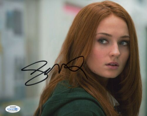 Sophie Turner Sexy Autographed Signed 8x10 Photo COA