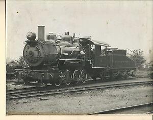 NF-059 - Vintage 8x10 Photo ET&WNC RR Steam Locomotive & Tender Train on Track
