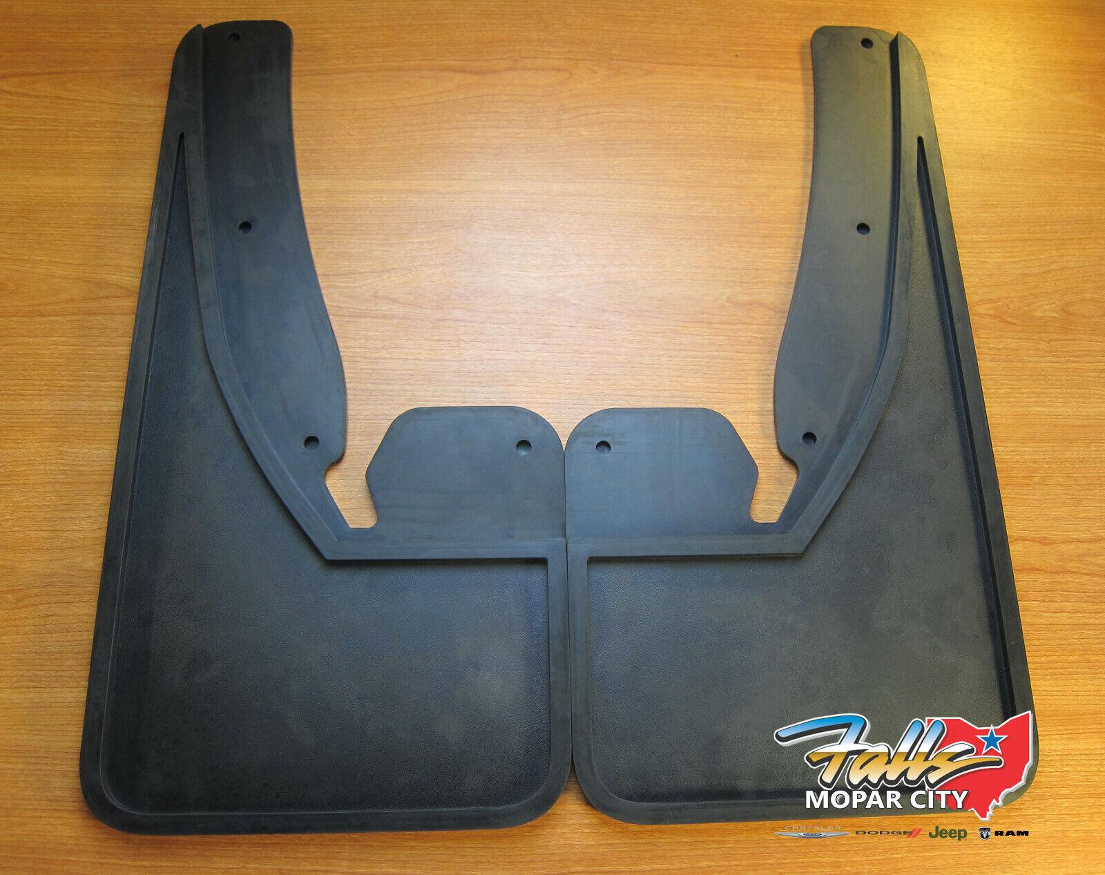Mopar 2009-2018 Dodge Journey Front Splashguards Black New!!!