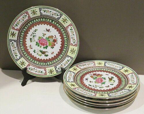 Jingdezhen Chinese Famille Porcelain SET 6 Dinner Plates (12 in stock)