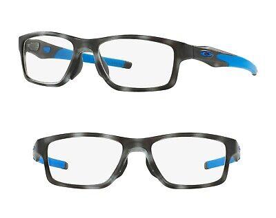 NEW Oakley Crosslink MNP OX8090 RX Eyeglass Frame Matte Grey OX8090-0653 53mm