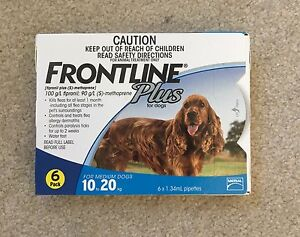 Frontline plus flea and tick treatment for medium dogs Mermaid Waters Gold Coast City Preview