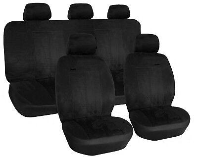 Schwarz Sitzbezüge für BMW X5 E53 Autositzbezug VORNE