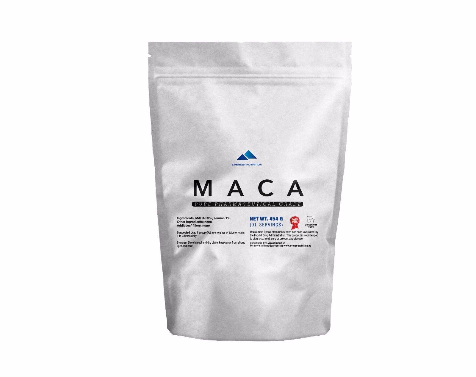 MACA Lepidium meyenii 100% PURE ORGANIC POWDER SUPERFOODS