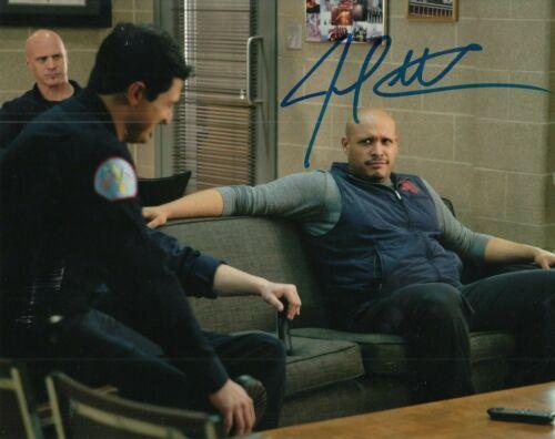 JOE MINOSO signed (CHICAGO FIRE) TV SHOW auto 8X10 photo *Joe Cruz* W/COA #2