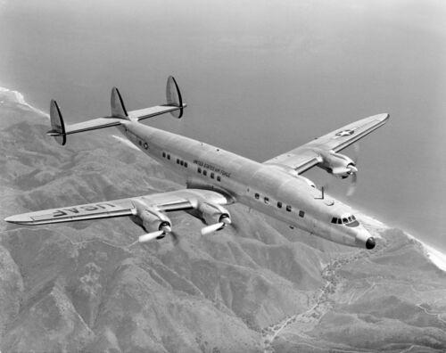 "USAF Lockheed C-121 Constellation ((8.5""x11"")) Print"
