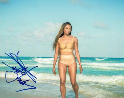 Kat Graham Signed Autograph 8x10 The Vampire Diaries Hot Sexy Actress COA AB