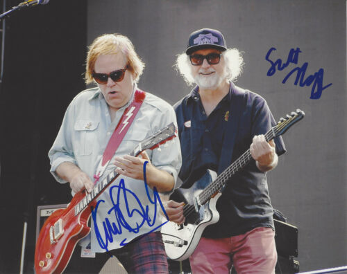 KURT BLOCH & SCOTT MCCAUGHEY SIGNED AUTHENTIC FILTHY FRIENDS 8X10 PHOTO w/COA