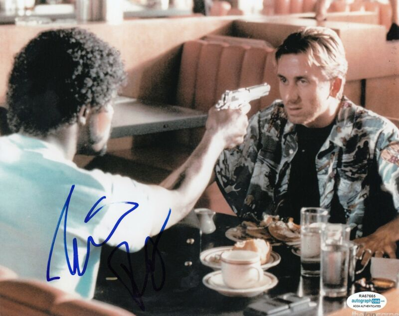 TIM ROTH signed (PULP FICTION) *Pumpkin* 8X10 photo ACOA Authenticated
