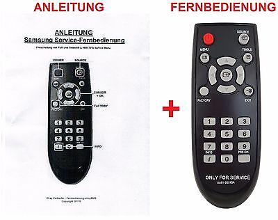 Service-Fernbedienung Plus für Samsung M/MU-Serie (PVR) [HBBTV4YOU]