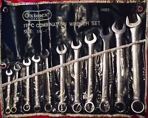 Oximex Combination Wrench Set