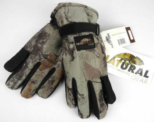 Natural Gear Insulated Hunting Gloves - M / L - New With Tags - Camouflaged
