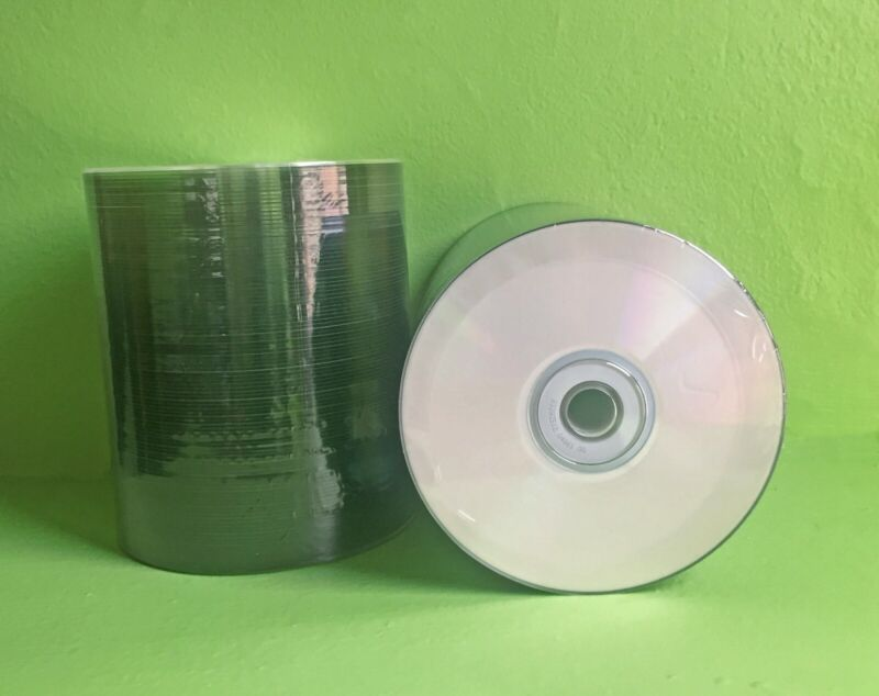 New 500 Prodisc Spin-X Thermal White Hub Printable CDs