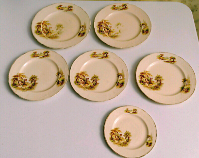 Alfred Meakin Antique Plates