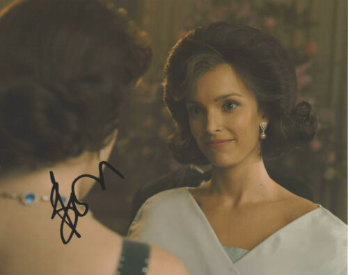 JODI BALFOUR SIGNED AUTHENTIC 'THE CROWN' 8x10 PHOTO C w/COA ACTRESS RELLIK