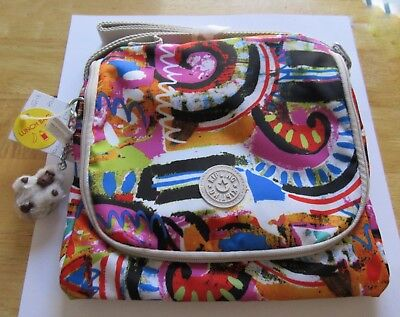 Kipling Kichirou Insulated Lunch Bag Dance Freely -Katie Monkey- multi-color