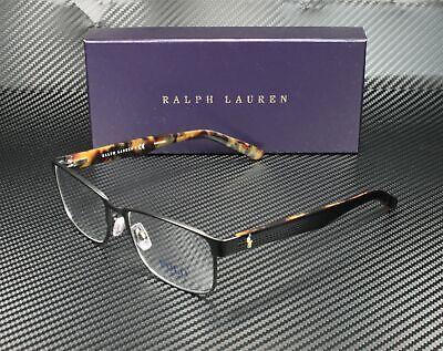 RALPH LAUREN POLO PH1157 9038 Matte Black Demo Lens 55 mm Men's (Polo Glasses For Men)