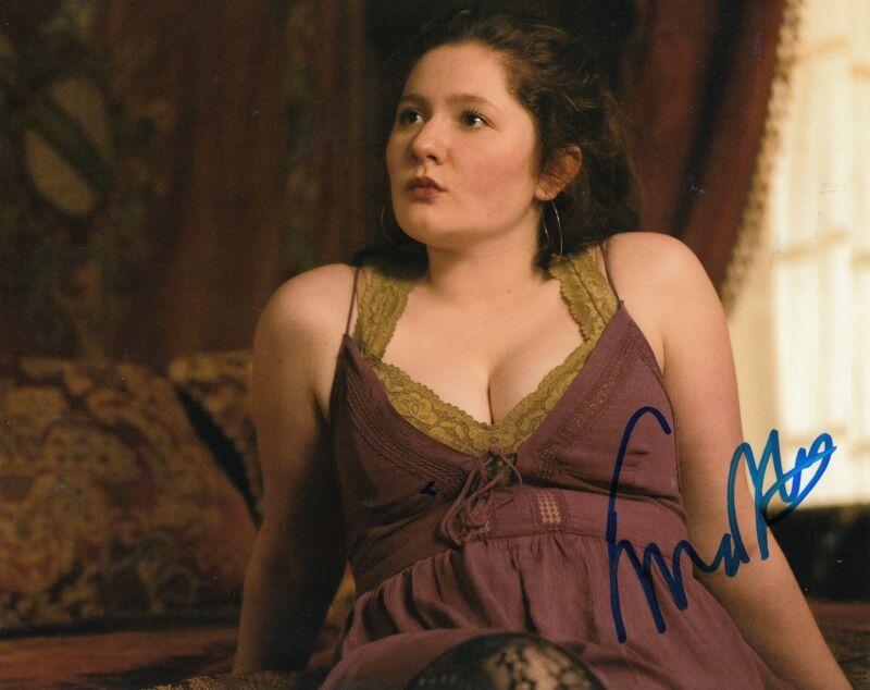EMMA KENNEY signed *SHAMELESS* 8X10 photo DEBBIE DEBS GALAGHER (PROOF) W/COA #3