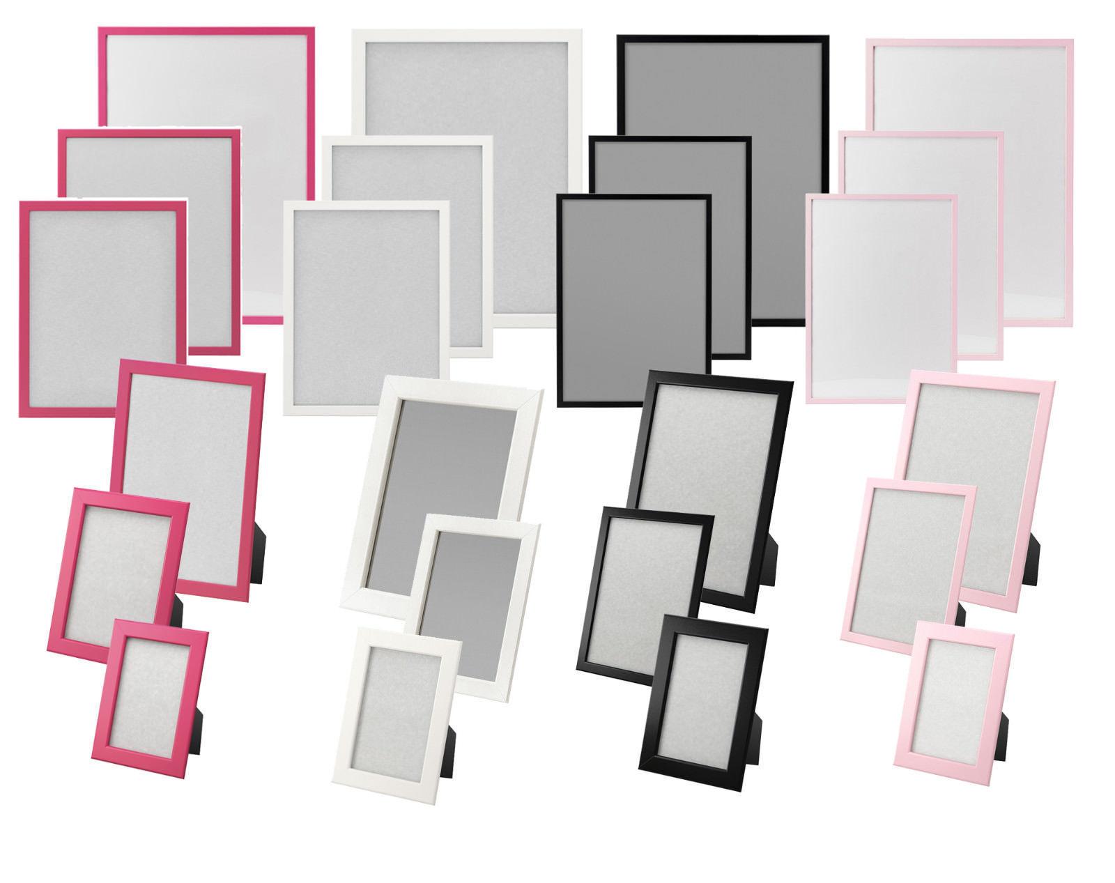 IKEA FISKBO Bilderrahmen In 4 Verschiedenen Farben Und 6 Grossen