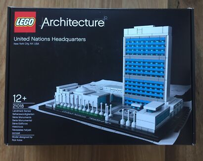 Lego Architecture United Nations. New