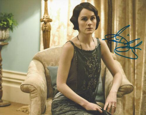 MICHELLE DOCKERY SIGNED AUTHENTIC 'DOWNTON ABBEY' LADY MARY 8X10 PHOTO w/COA