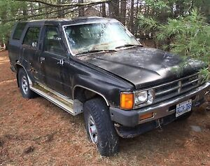 2 Toyota 4Runners 1989 and 1987