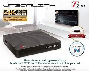 ★DREAMLINK T2 ULTRA HDR 4K ★ ANDROID TV BOX  ★IPTV ★ PVR