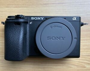 Sony A6300 Mirrorless Camera // Body only // 2 x Battery
