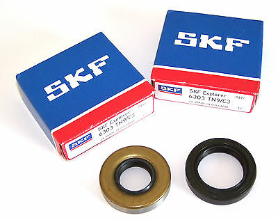 SKF C3 Kurbelwellenlager Set Minarelli AM 3 AM4 AM5 AM6 Lager + Simmerringe