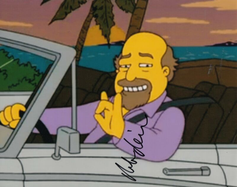 "ROB REINER signed (THE SIMPSONS) ""MILLION-DOLLAR ABIE"" 8X10 photo W/COA #1"