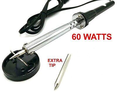 60w Iron Soldering Gun Electric Welding Solder 110v-120v Extra Tip