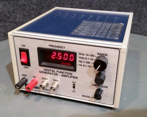 PASCO SCIENTIFIC PI-9587 DIGITAL FUNCTION GENERATOR / AMPLIFIER