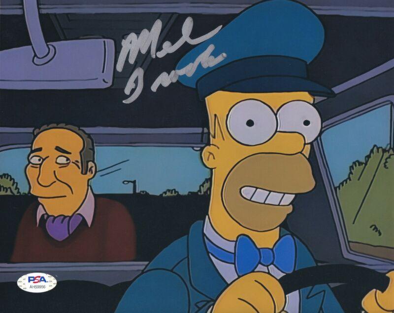 Mel Brooks Signed 8x10 photo The Simpsons PSA DNA