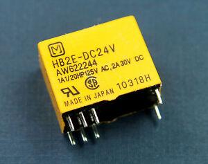 HB2E-DC24V Aromat Matsushita NAIS Relay AW622244