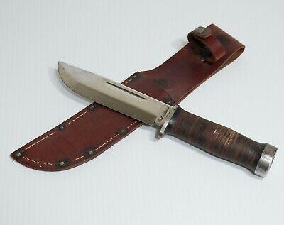Nice! WWII Cattaraugus 225Q Quartermaster US Military Combat Fighting Knife WW2