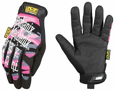 Mechanix Wear - Womens Original Pink Camo Work Gloves Small Pink Camouflage