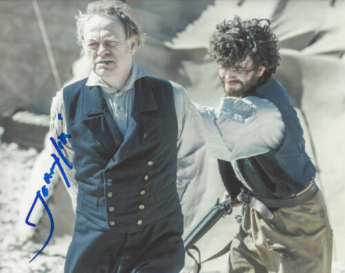 ACTOR JARED HARRIS SIGNED 'THE TERROR' FRANCIS 8X10 PHOTO B COA CHERNOBYL PROOF