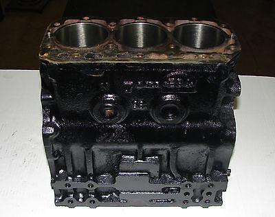 Am878597 John Deere 4300 4310 790 Cylinder Block Yanmar 3 Cylinder