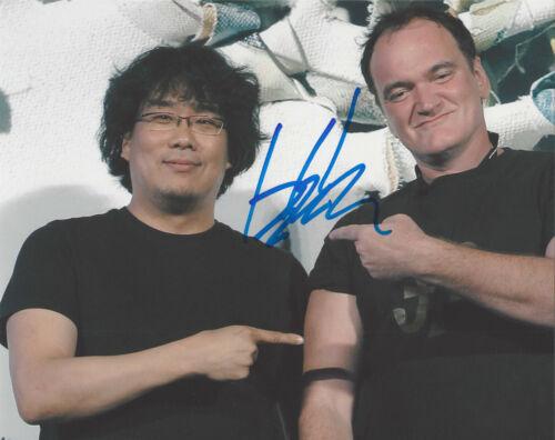 DIRECTOR BONG JOON-HO SIGNED 'PARASITE' 8x10 PHOTO w/COA QUENTIN TARANTINO PROOF