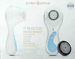 Clarisonic-Pro-Skin-Care-System-Face-Body-White-2013-Free-Handle