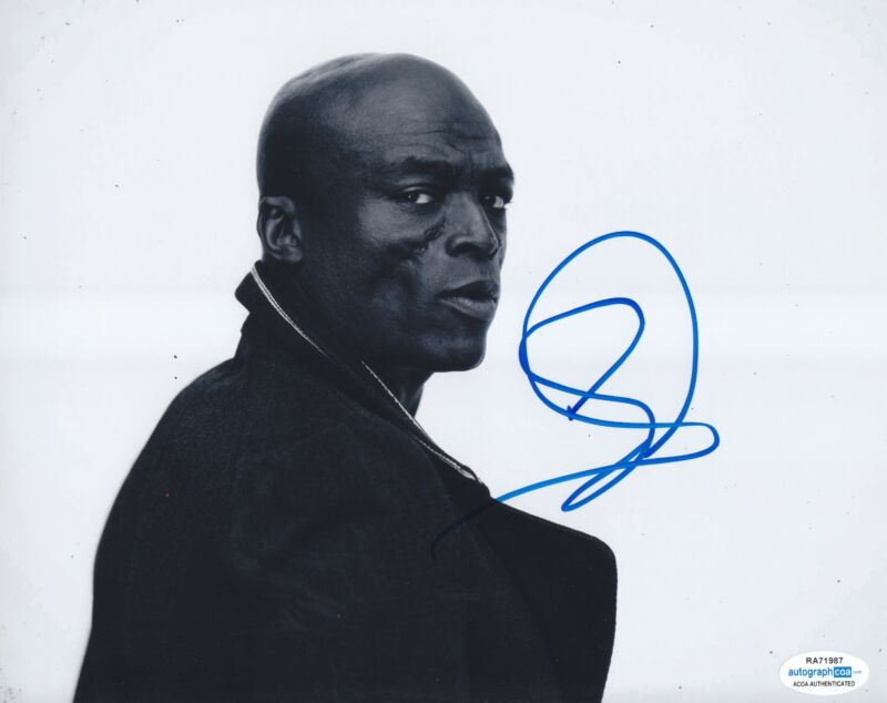 Seal Autographed Signed 8x10 Photo Kissed By A Rose Singer ACOA RACC