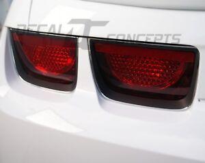 2010-2013 Camaro Flat Black Tail Light Bezel Decal kit - Chevy cover sticker