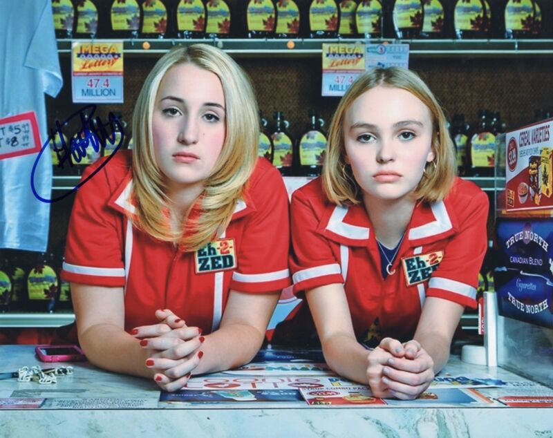 Harley Quinn Smith signed Young Hosers Movie 8x10 Photo w/COA Colleen McKenzie
