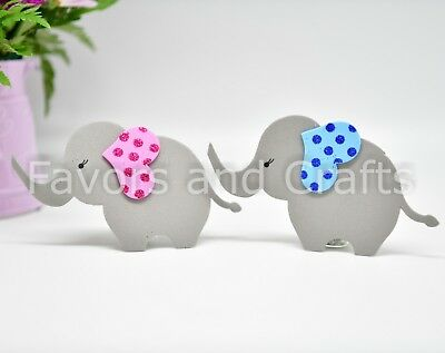 10 Baby Shower Elephants Centerpiece Decoration Foam Girl Boy Favors Elefantes (Girl Elephant Baby Shower)