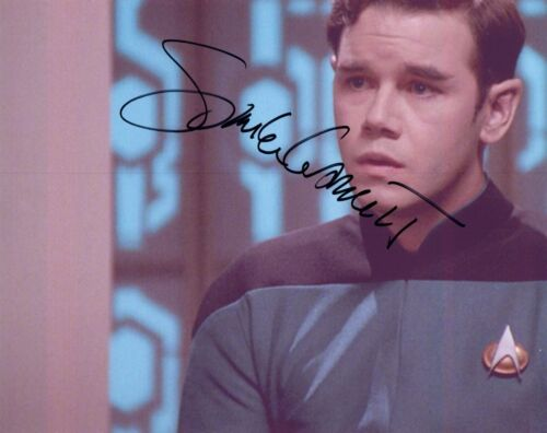 Spencer Garrett Signed Autographed 8x10 Photo Star Trek The Next Generation COA