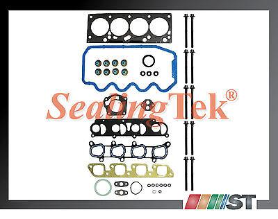 Fit 00-04 Ford Focus 2.0L SOHC 8-Valve Engine Cylinder Head Gasket Set kit VIN P