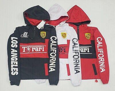 Windbreaker Jackets For Men  **Ferrari5462** BIG (Ferrari Jacket For Men)